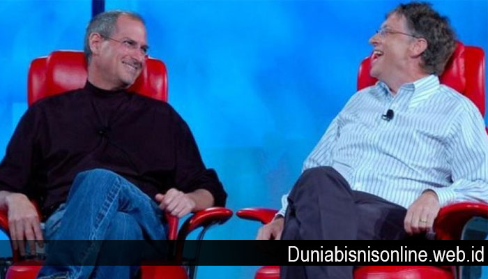 Steve Jobs dan Bill Gates Anti Kritik