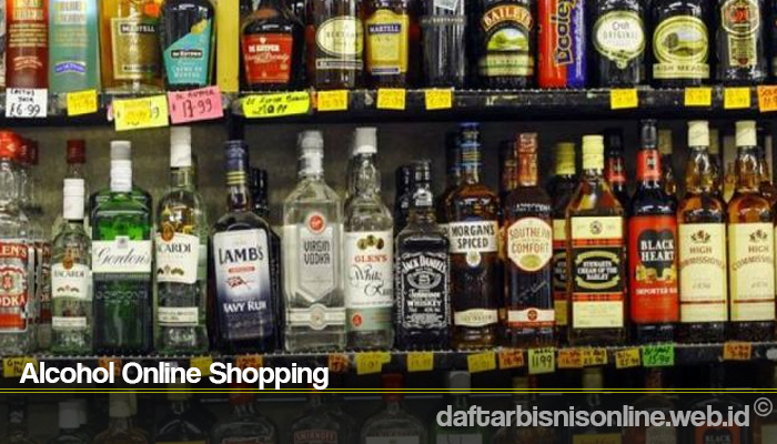 Alcohol Online Shopping